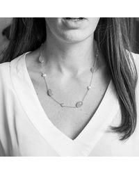 Auree Jewellery - Metallic Aravalli Aqua Moonstone Pearl & Gold Vermeil Necklace - Lyst