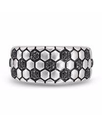 LMJ - Metallic Kick & Goal Soccer Band Ring for Men - Lyst