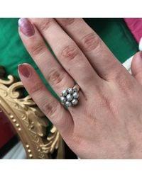Emma Chapman Jewels - White Bellina Pearl Ring - Lyst