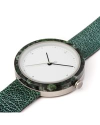 Flint Watches - Green Aravalli Marble Verdigris Strap - Lyst