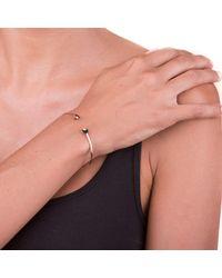 Sadekar Jewellery - Multicolor White Diamond Flower Bracelet - Lyst