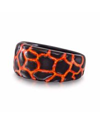 LMJ - Multicolor Earth & Fire Band Ring - Lyst
