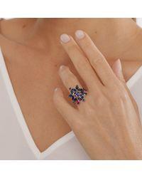 Joana Salazar - Blue Blossom Ring - Lyst