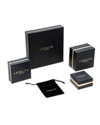 Latelita London - Metallic Cosmic Asymmetric Earring Heart Gold - Lyst