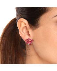 Joana Salazar - Red Blossom Petite Earrings - Lyst