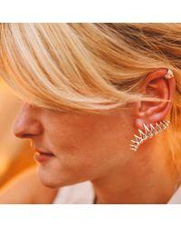Origin 31 - Metallic Backbone Ear Cuff - Lyst