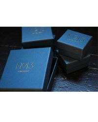 No 13 - Metallic Aries Constellation Signet Ring 9ct Gold & Diamonds - Lyst