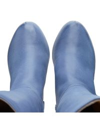 NINE TO FIVE - Blue High Boot Landsberger Marine - Lyst