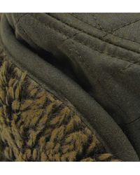 Barbour   Stanhope Olive Green Trapper Wax Hat for Men   Lyst