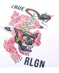 True Religion | White Guardian T-shirt for Men | Lyst