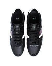 BOSS - Lighter Lowp Black Trainers for Men - Lyst