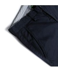 BOSS Green - Blue C-rice Navy Chino Trousers for Men - Lyst