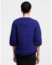 Wool And The Gang | Blue Ashleigh Sweater | Lyst