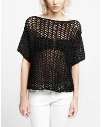 Wool And The Gang | Black Ariel Top | Lyst