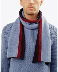 Wool And The Gang | Blue Boys Will Be Boys Scarf for Men | Lyst