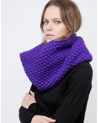 Wool And The Gang | Purple Snood Dogg | Lyst