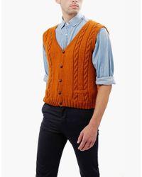 Wool And The Gang   Orange Jumpin' Jack Vest for Men   Lyst
