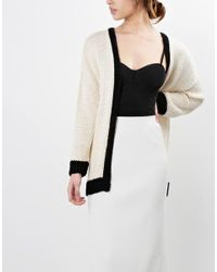 Wool And The Gang | Natural Lola Cardigan | Lyst