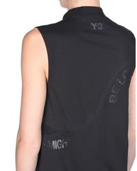 Y-3 | Black Statement Tank Top | Lyst