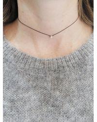 RedLine - Multicolor Black Illusion Diamond Collier Necklace - Lyst