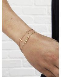 Jennifer Meyer - Metallic Mom Statement Bracelet - Lyst