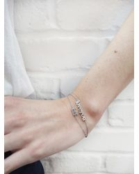 Jennifer Meyer - Multicolor Love You Bracelet - Lyst