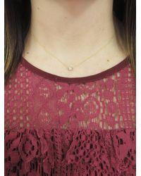 Tate - Multicolor White Diamond Circle Necklace - Lyst
