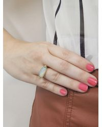 Andrea Fohrman - Metallic One-of-a-kind Oblong Opal Star Ring - Lyst