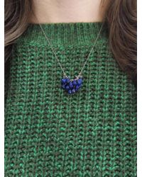 Ten Thousand Things - Multicolor Faceted Lapis Waterfall Necklace - Lyst