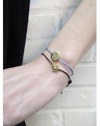 "Ruifier - Blue Friends Personalized Initial ""l"" Bracelet - Lyst"