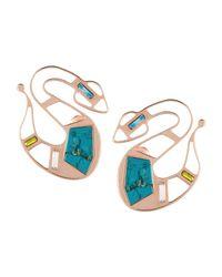 MSGM | Multicolor Earrings | Lyst