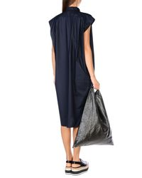 Balenciaga | Blue Knee-length Dress | Lyst
