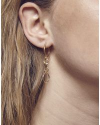 Maria Francesca Pepe - Metallic (h)oops! Single Charm Earring - Lyst