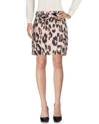 RED Valentino - Black Knee Length Skirt - Lyst