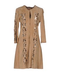 Fedeli - Natural Overcoat - Lyst