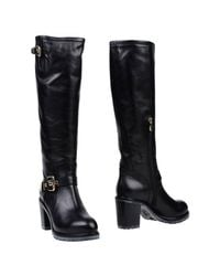Luciano Padovan - Black Boots - Lyst