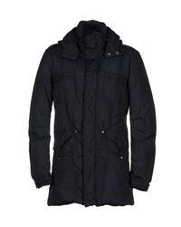 Ermanno Scervino - Blue Down Jacket for Men - Lyst