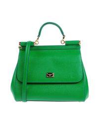Dolce & Gabbana - Green Handbag - Lyst