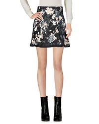 Patrizia Pepe - Black Mini Skirt - Lyst