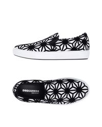 DSquared² - Black Low-tops & Sneakers for Men - Lyst