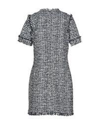 MSGM - Blue Short Dress - Lyst
