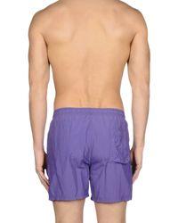 Armani - Blue Swim Trunks for Men - Lyst