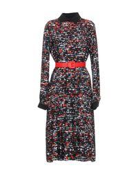 Fontana Couture - Black Knee-length Dress - Lyst