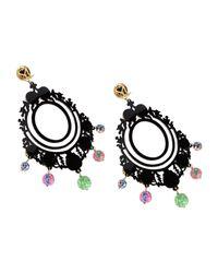 Mercantia - Black Earrings - Lyst