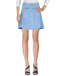Paul & Joe - Blue Denim Skirt - Lyst