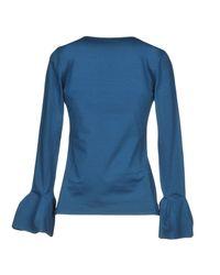 Paule Ka - Blue T-shirt - Lyst