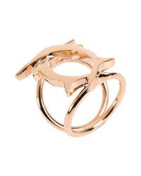 Tamara Akcay - Metallic Ring - Lyst