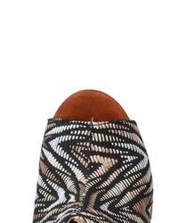 Jeffrey Campbell - Black Woven Pattern Sandals - Lyst
