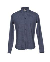 Michael Coal Blue Shirt for men