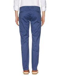 Hamptons Blue Casual Trouser for men